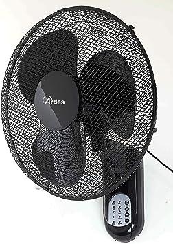 Ardes AR5W40R PARETO COOL RC Ventilador oscilante de pared pala 40 ...