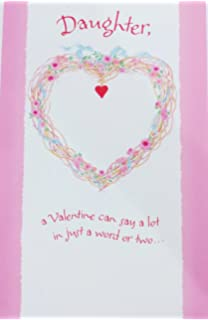 Amazon to a special son and daughter in law with love happy a valentine filled with love for you daughter happy valentines day greeting card m4hsunfo