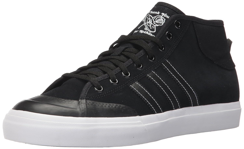 Adidas Originals Men's Matchcourt Mid Skate schuhe, schwarz schwarz Weiß, 8 Medium US