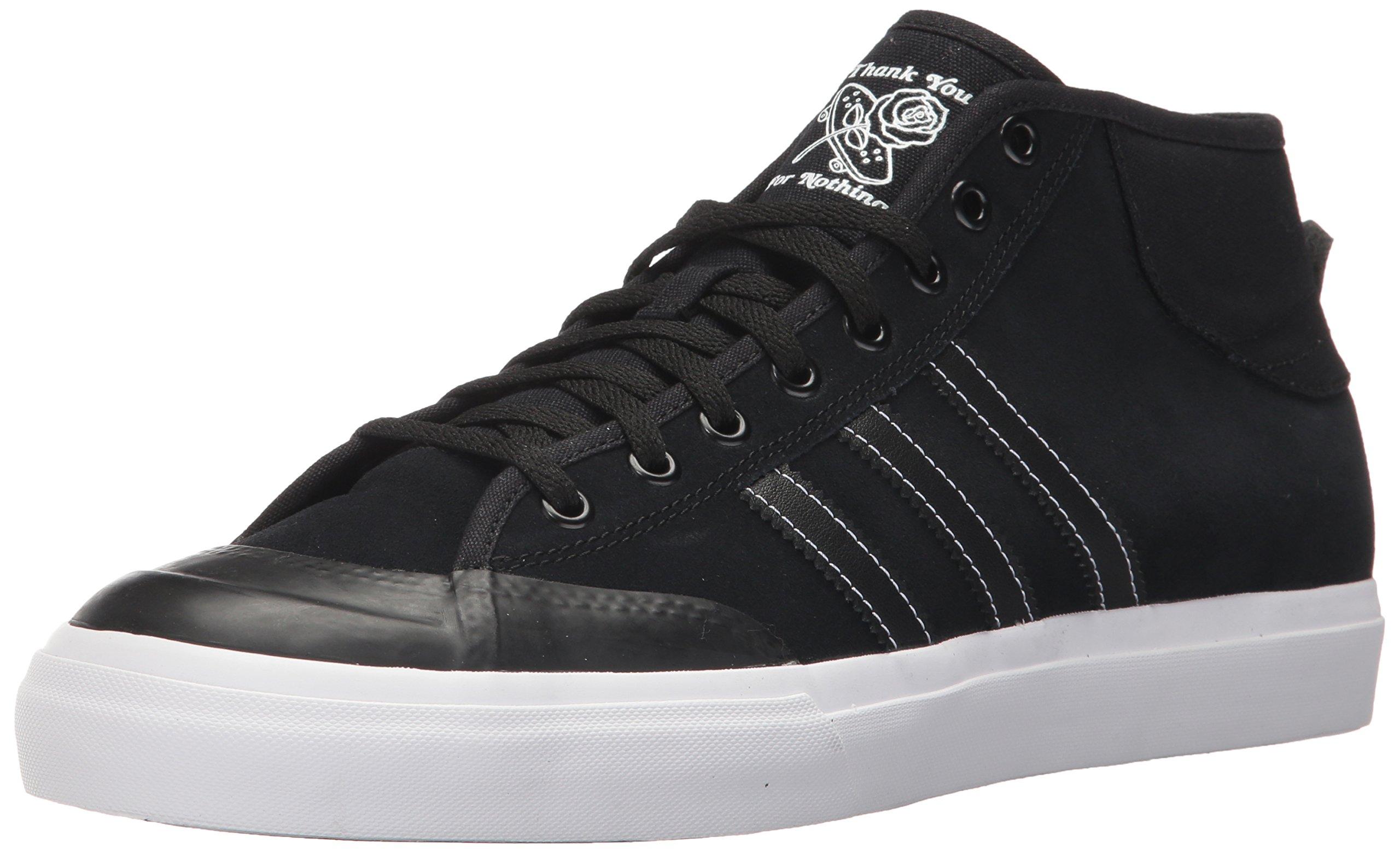 new concept 8926c 68657 Galleon - Adidas Originals Men s Matchcourt MID Running Shoe, Black White,  10 Medium US