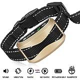 Folksmate [2018 Upgrade Version] Bark Collar, Dog No Bark Collars Upgrade 7 Sensitivity, USB Rechargeable Waterproof Dog Training Collar with No Harm Shock and Vibration for Small Medium Large Dog