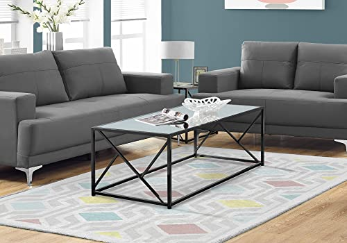 Monarch Specialties I Coffee Table Mirror Top