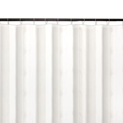 Veratex 70 Inch By 72 Shower Curtain Liner Ivory