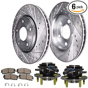 2007 2008 2009 Chevy Equinox OE Replacement Rotors Ceramic Pads F
