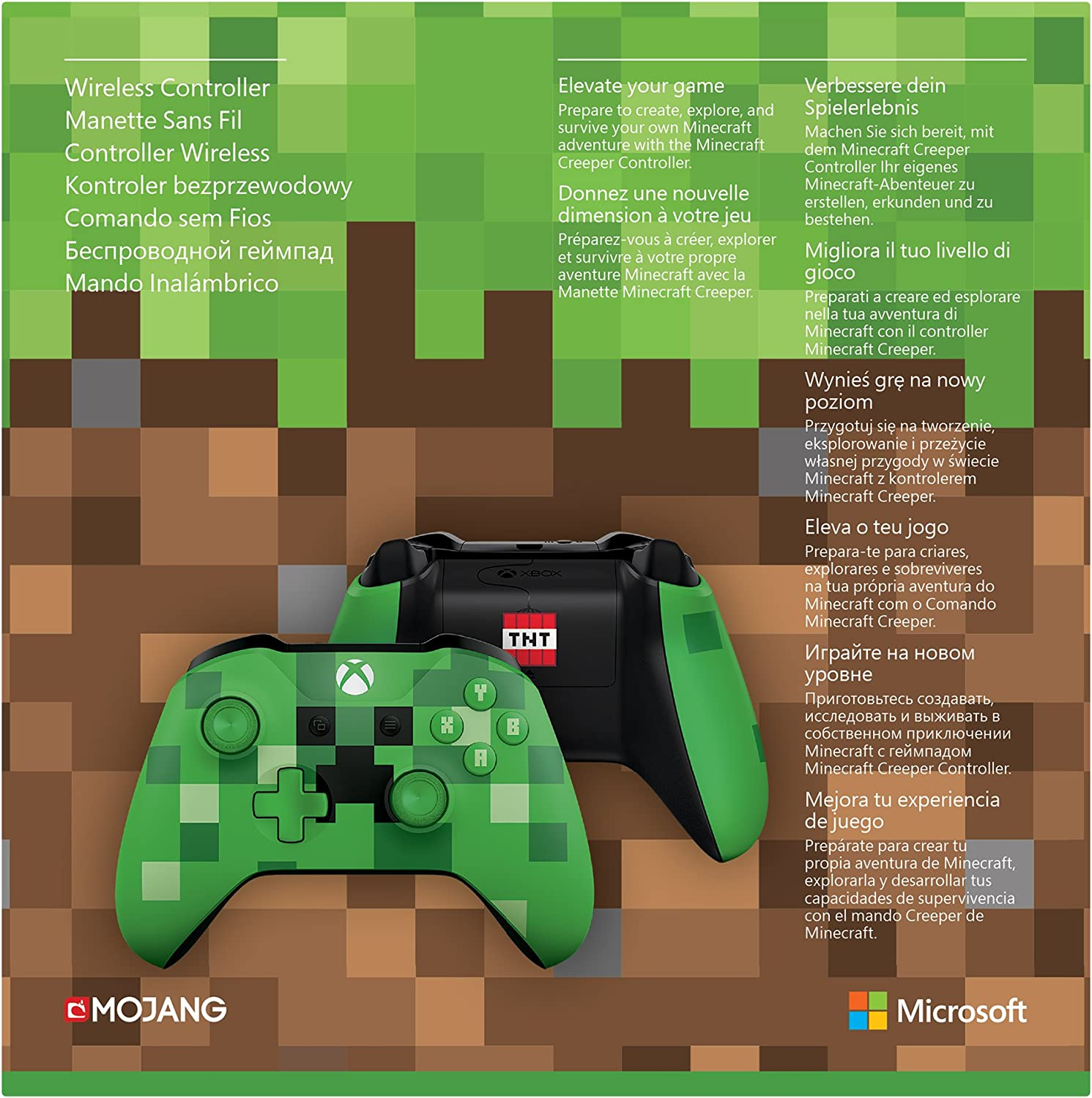Amazoncom Xbox Wireless Controller PC Computer Minecraft - Minecraft creeper spiele