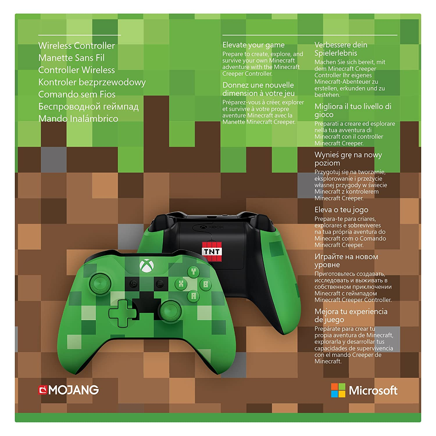 Amazon third party manette sans fil xbox one edition limite amazon third party manette sans fil xbox one edition limite minecraft creeper 0889842182354 voltagebd Image collections