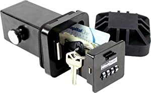 HitchSafe HS7000T Key Vault, Black