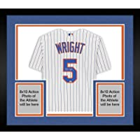 $699 » Framed David Wright New York Mets Autographed White Majestic Replica Jersey - Autographed MLB Jerseys