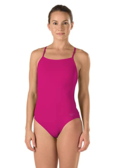031cbcb174 Speedo Women's Endurance Lite The One Turnz One Piece Swimsuit, Pink, ...