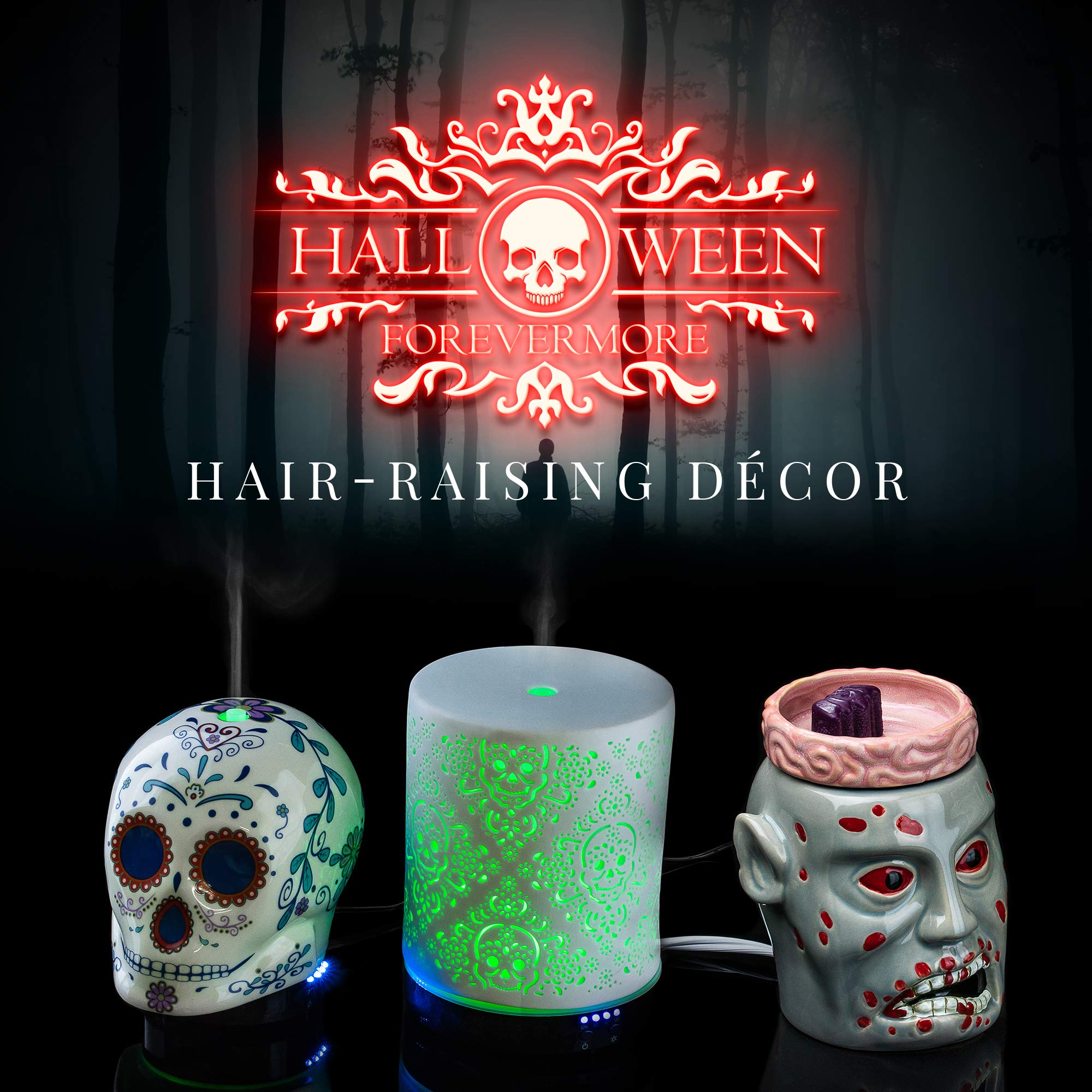 The Undertaker Horror Style Wax Warmer by Halloween Forevermore (Image #7)