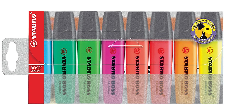 STABILO BOSS Original Felt Tip and Highlighter Set Pastel