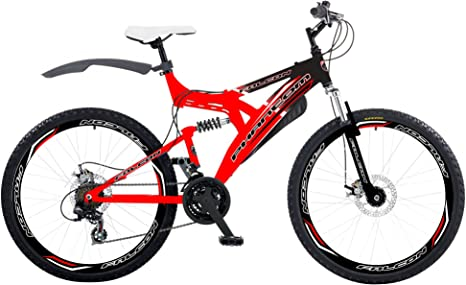 Falcon Phantom - Bicicleta de Doble suspensión para Hombre, tamaño ...