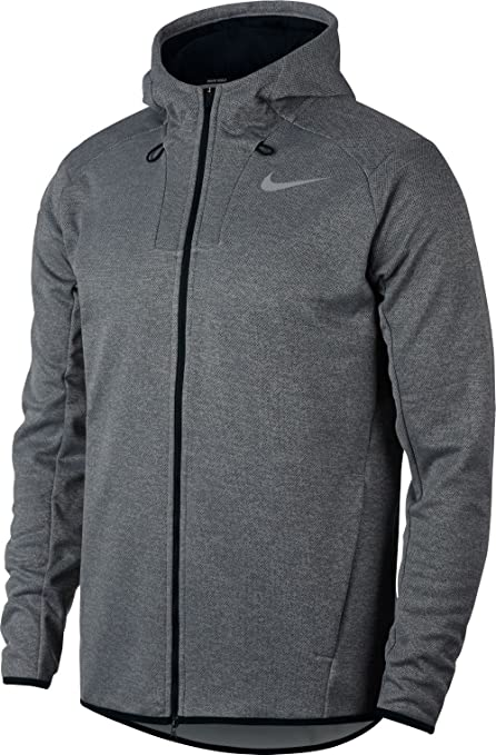 33a1b0efe46e Nike Therma Fit Hoodie Golf Jacket 2017 Black Anthracite Flat Silver X-Large