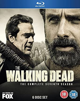 Amazon Com The Walking Dead Season 7 Blu Ray 2017 Movies Tv