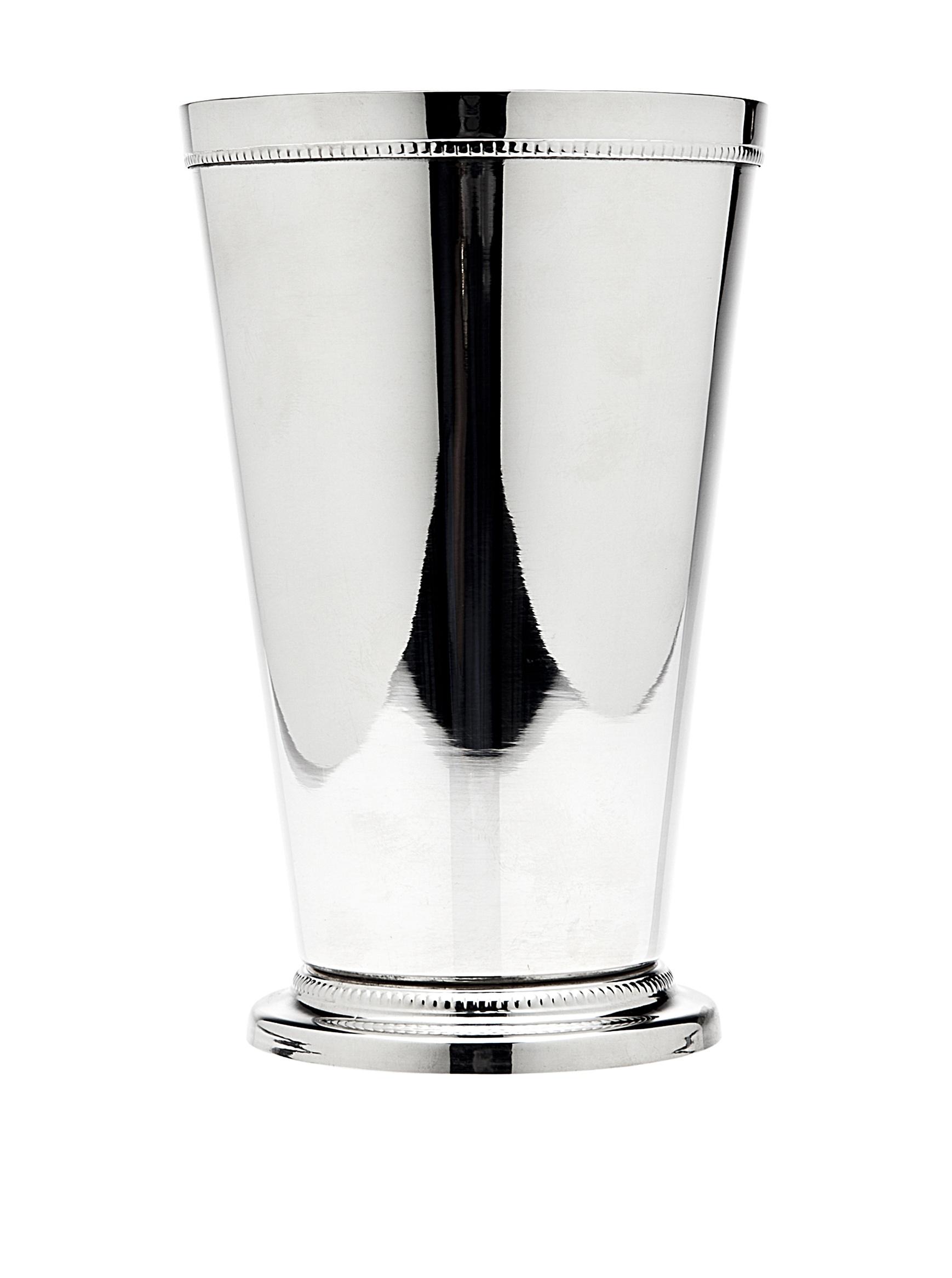 Godinger 55201 Beaded Barware Beaded 4''x 6.25'' Mint Julep Cup,