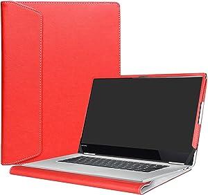 "Alapmk Protective Case for 15.6"" Lenovo Yoga 720 15 720-15IKB/Lenovo ThinkBook 15 15 IML 15 IIL/Lenovo ThinkPad E15 Gen 2 Laptop(Not fit Yoga 720 13 & 12.5/730/710/ThinkPad E15 1st),Red"