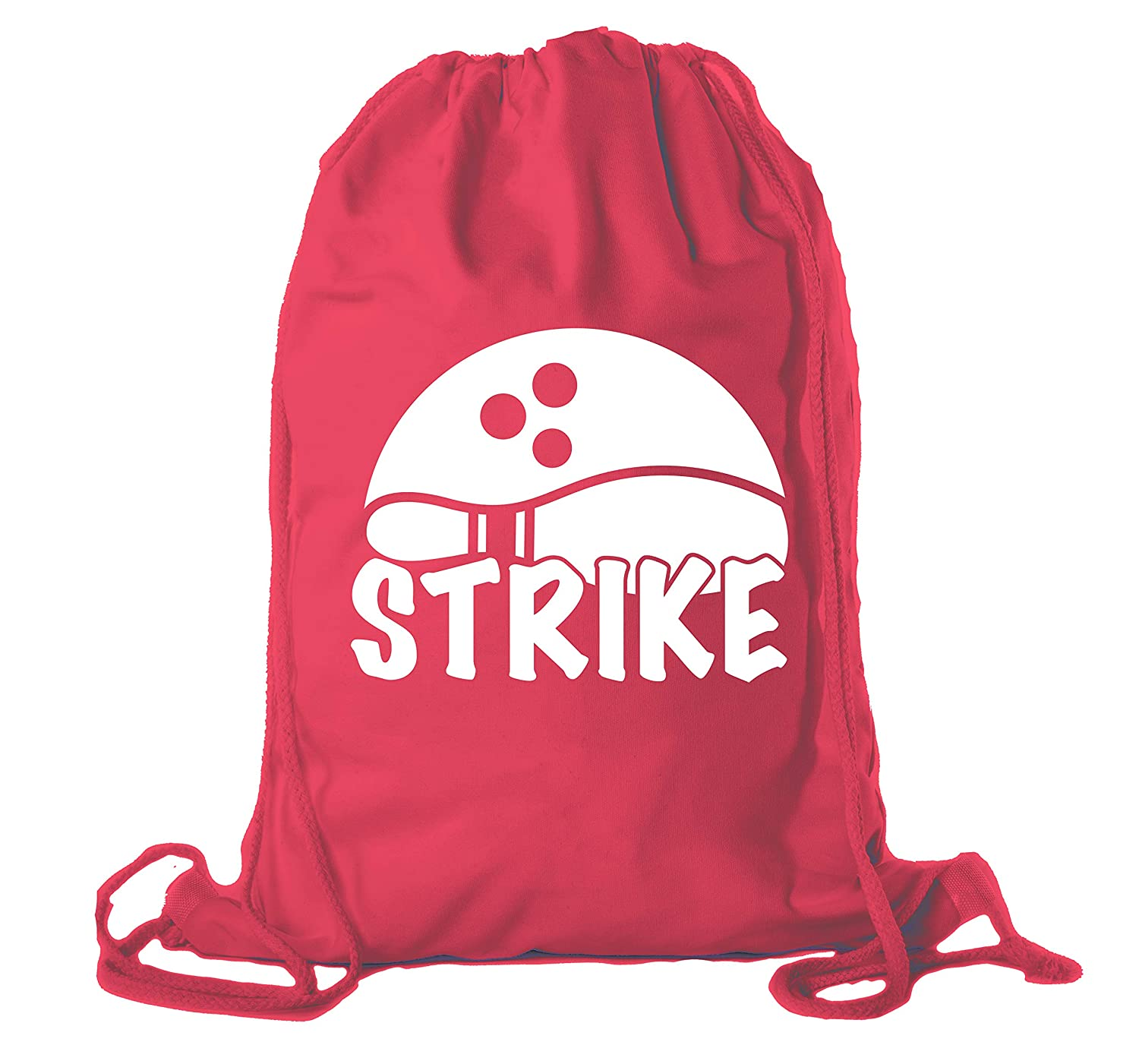Drawstring Bowling Bag Cotton Bowling Cinch bags for Leagues and Parties!