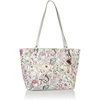 Sakroots Metro Coated Canvas Tote, Blush in Bloom
