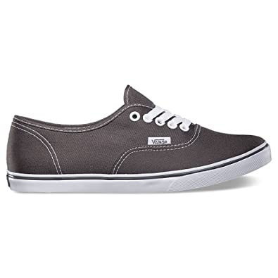 cc68de4a6143a7 Image Unavailable. Image not available for. Color  Vans Authentic Lo Pro  Unisex Skate Shoes (Pewter True White) 4