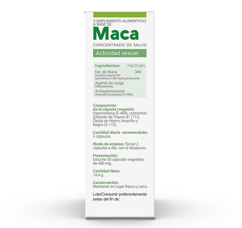 Vive+ Advance Maca, Suplemento Alimenticio - 3 Paquetes de 30 Cápsulas: Amazon.es: Salud y cuidado personal