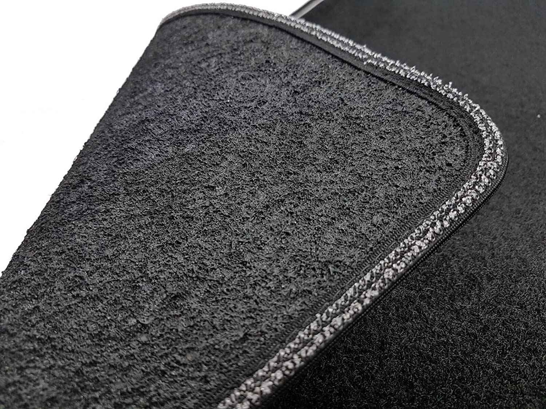 sprint03305 Le tapis voiture Tapis Moquette noire antid/Ã/©rapant bord bicolore qashqai 2014/Â/. salvatacco renforc/Ã/© en caoutchouc