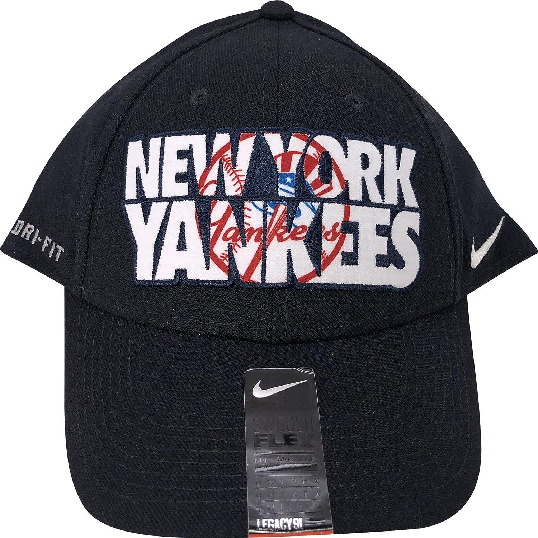 Amazon.com   Nike New York Yankees Legacy91 Dri-Fit Flex Hat M L   Sports    Outdoors 2d3d194153e