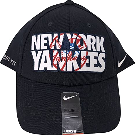 Image Unavailable. Image not available for. Color  Nike New York Yankees  Legacy91 Dri-Fit Flex Hat ... efd978fd7d8