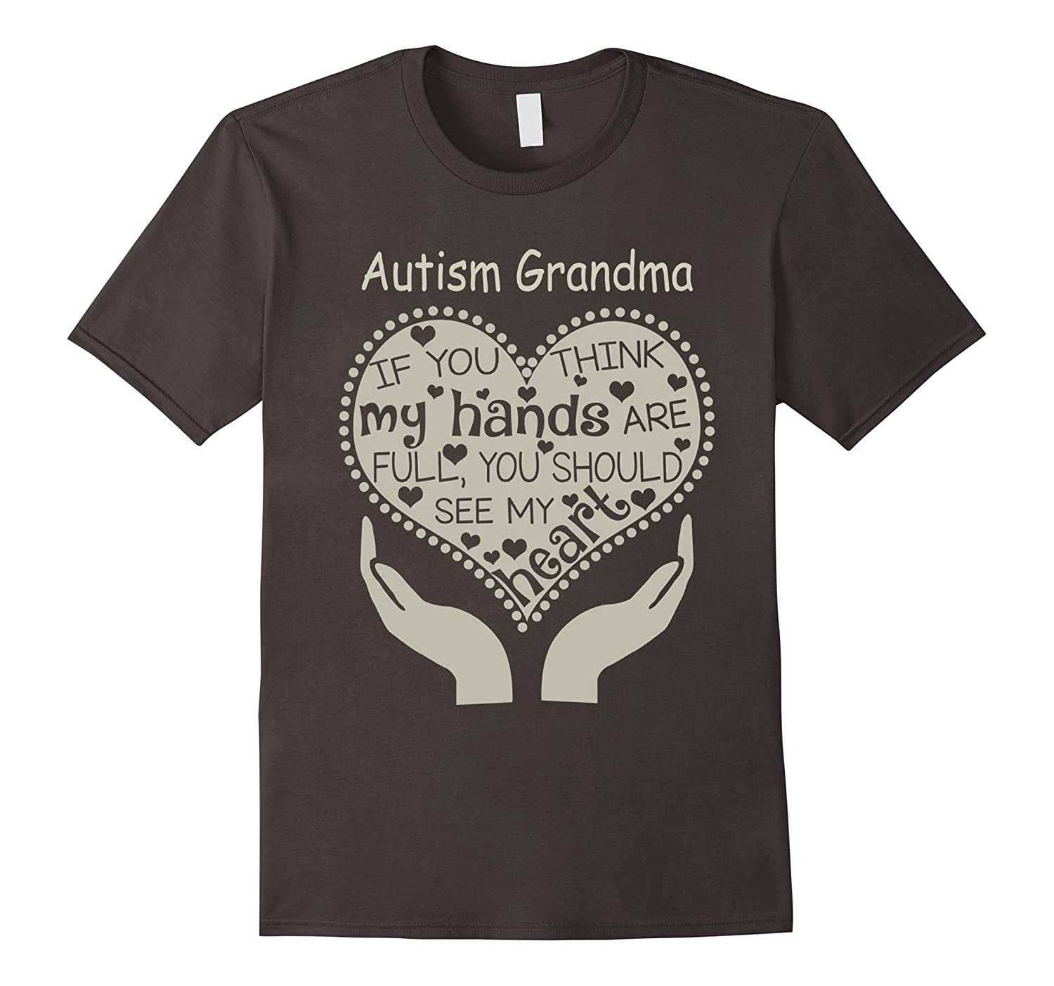 Autism Grandma T-Shirt-TH