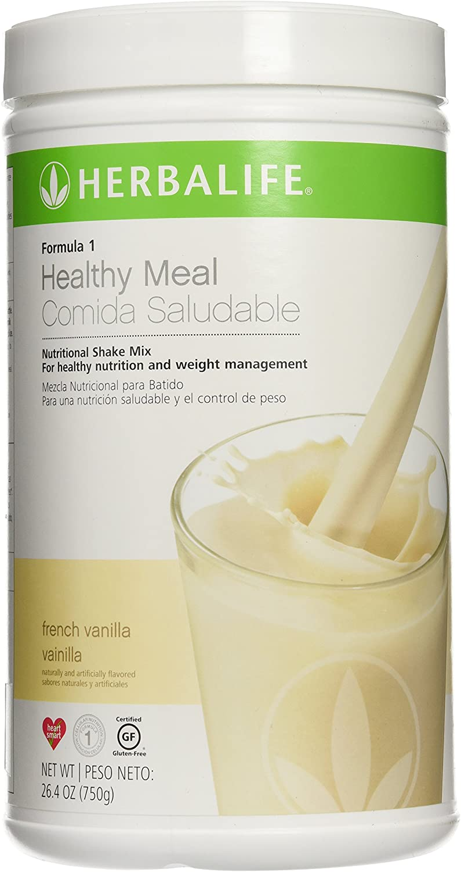 Herbalife Formula 1 Shake Mix - French Vanilla (750g): Amazon.es ...