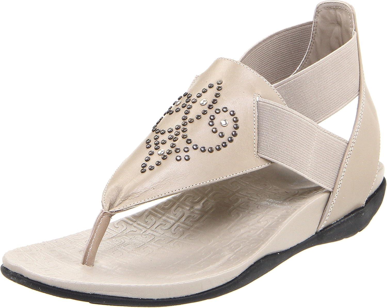 Rockport Women's Trujoris Gore Ankle-Strap B00590QR6C 6.5 W US|Cobblestone Grey