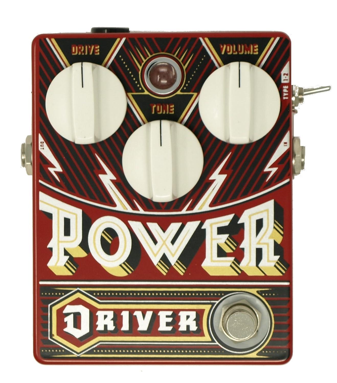 DR.NO effects ドクターノオエフェクツ ギター用オーバードライブペダル POWER DRIVER MK-II パワードライバー MK-II P.D.MKII B073XLGNL8