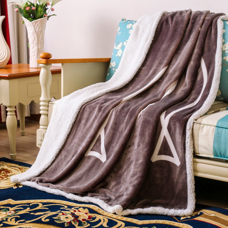 antubleフリース毛布Sherpa Throw Blanket forベッドソファ( 500 gsm )リバーシブルFuzzy Cozy Blanket 60