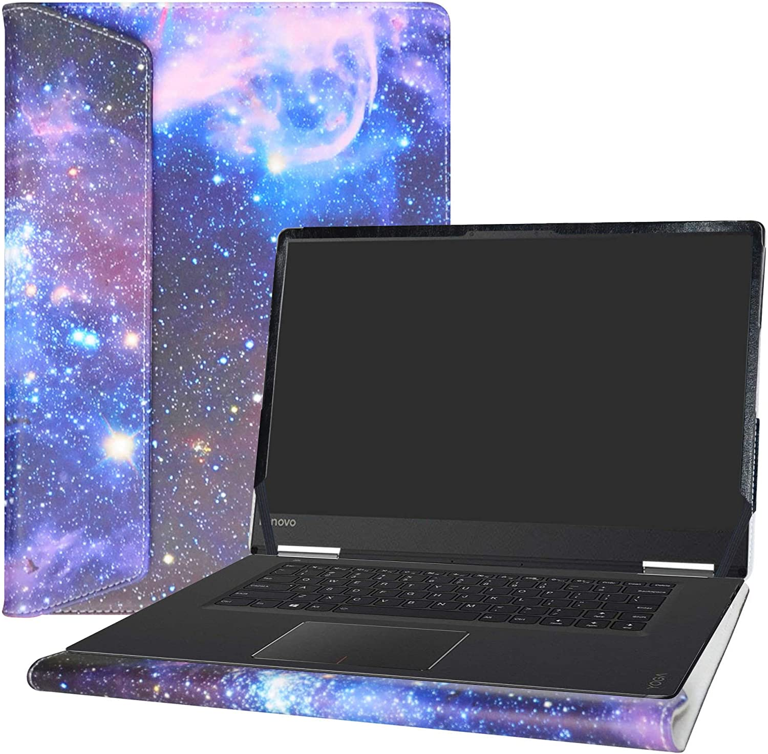 "Alapmk Protective Case Cover for 15.6"" Lenovo Yoga 710 15 710-15IKB/IdeaPad 720S 15 720S-15IKB & ACER Swift 3 15 SF315-52 Laptop(Note:Not fit Yoga 730 720/IdeaPad 710s/SWIFT 3 SF315-51),Galaxy"