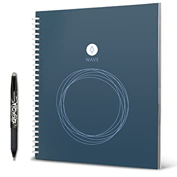 rocketbook Wave Smart Notebook, color azul estándar