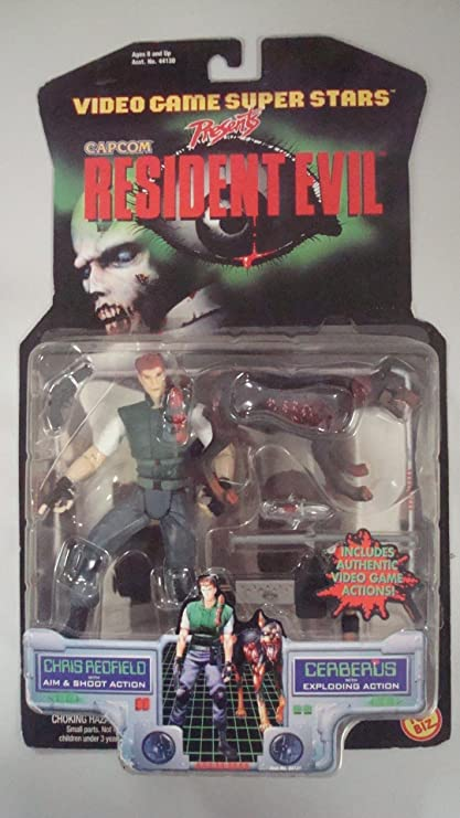 Resident Evil > Chris Redfield with Cerberus Action Figure 2-Pack ...