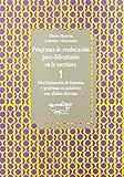 Programa de reeducación para dificultades en la escritura - 1: 1. Discriminación de fonemas y grafemas en palabras con sílabas directas (Aprendizaje)