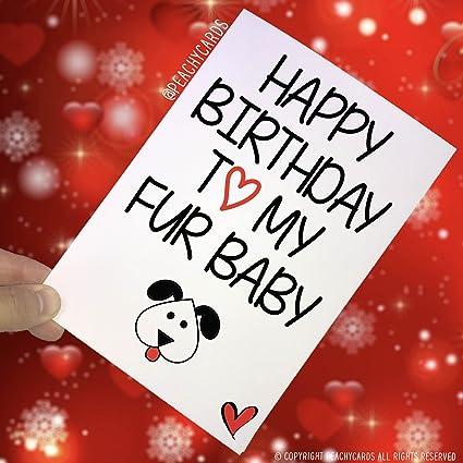 Tarjetas de cumpleaños divertidas para el perro, tarjeta ...