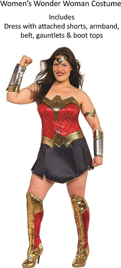 Generique - Disfraz Deluxe Mujer Maravilla Liga de la Justicia ...