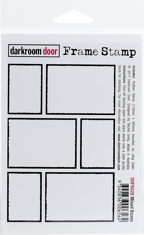 Darkroom Door Mixed Boxes Cling Stamp 4.5X3