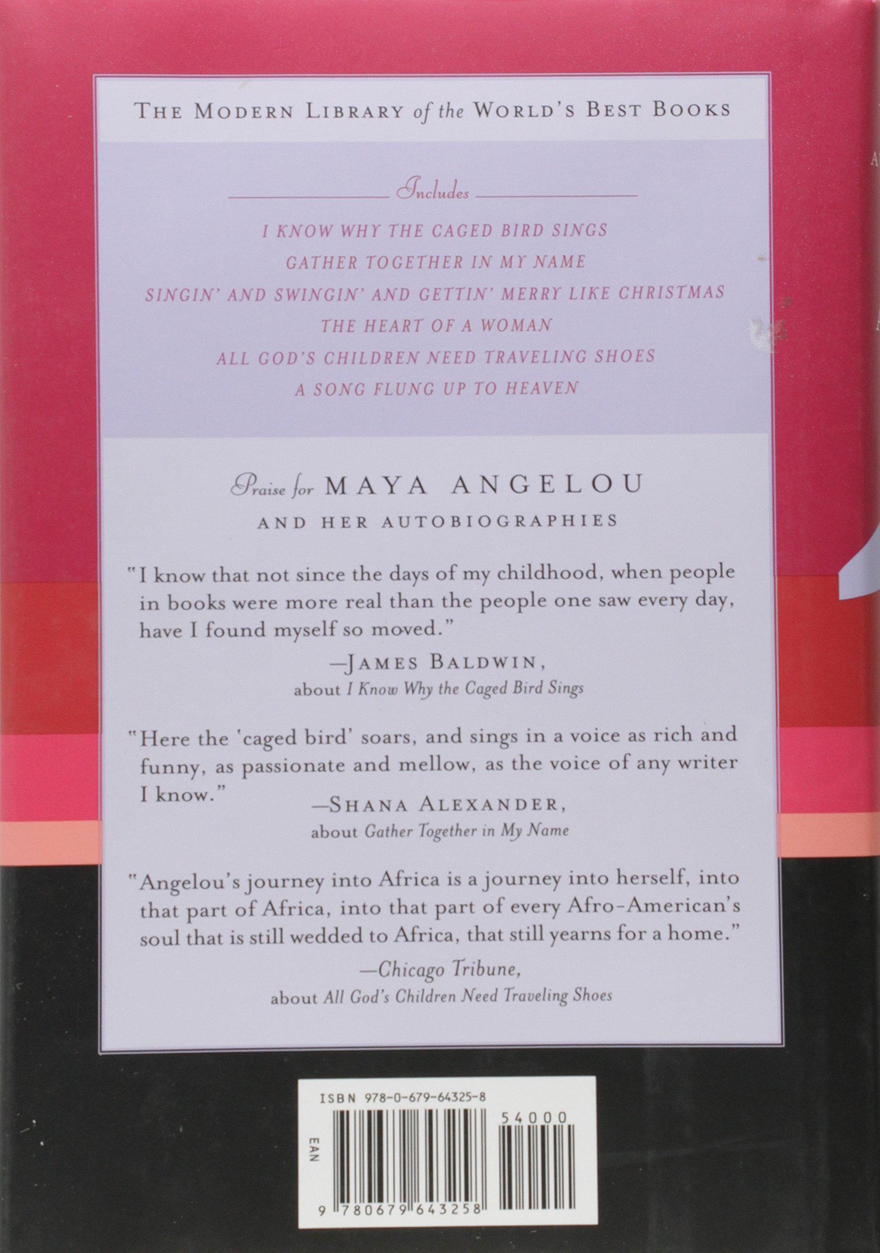 Amazon The Collected Autobiographies Of Maya Angelou Maya