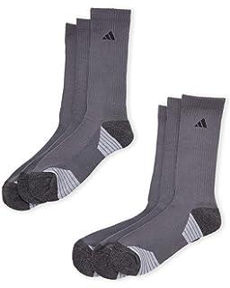 f7e7741bac Amazon.com: adidas Men's Athletic Cushioned Crew Socks (6-Pack ...