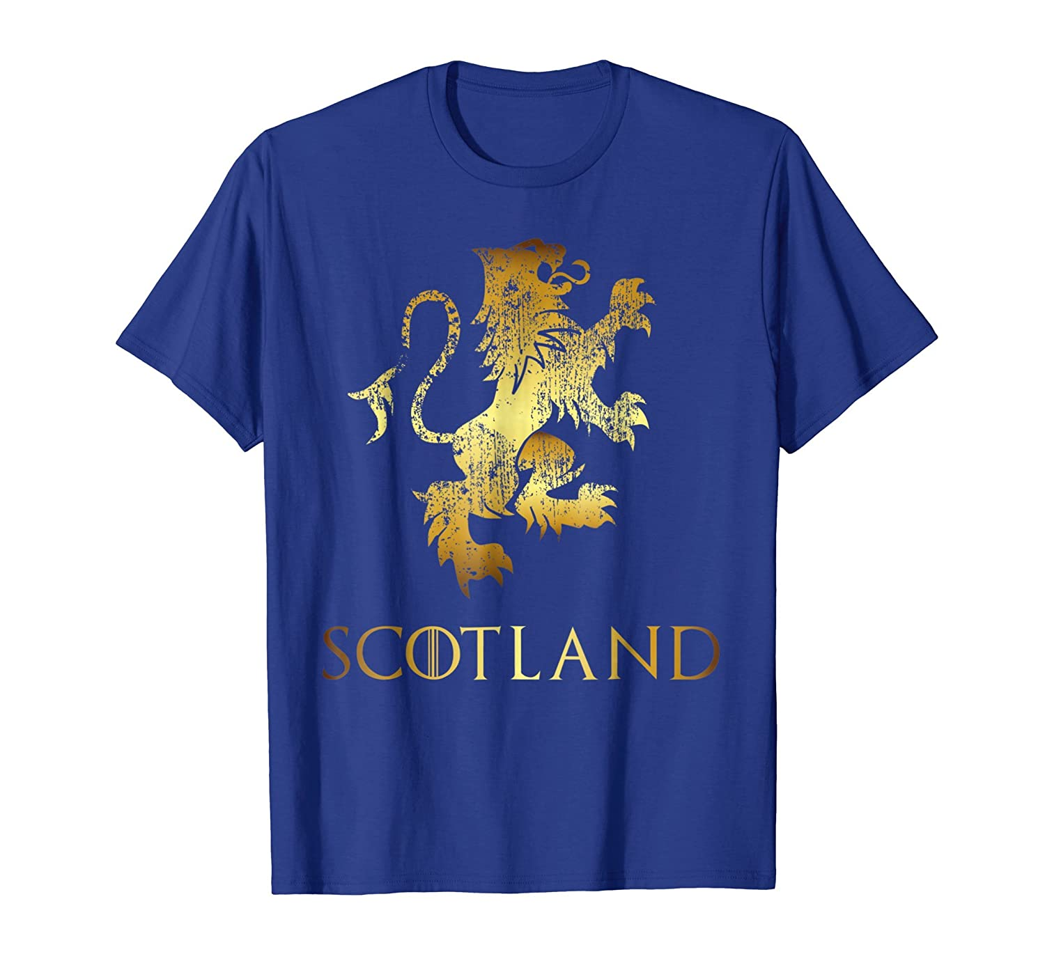 b14af2fd Funny Scotland Lion Rampant T-Shirt Scottish Kilts Gift Tee-AZP ...