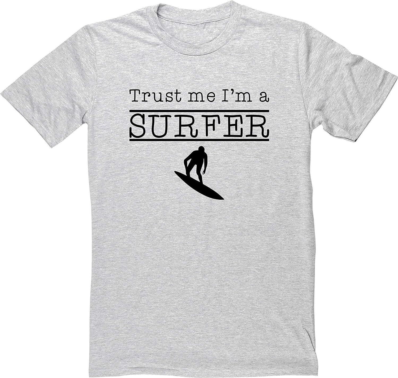 HippoWarehouse Trust Me Im A Surfer Camiseta Manga Corta ...