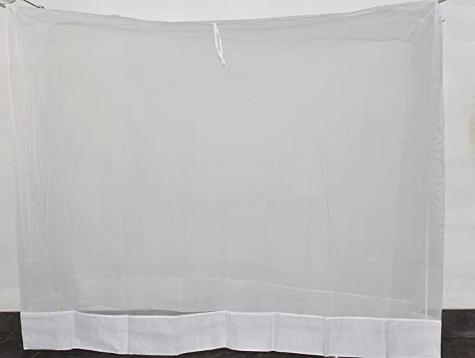 Fashion Centre Polyster Mosquito net 5*7ft, White