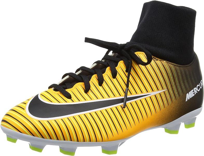 online store 47e47 eeae5 Jr Mercurial Victory VI DF FG Soccer Cleats (Laser Orange)