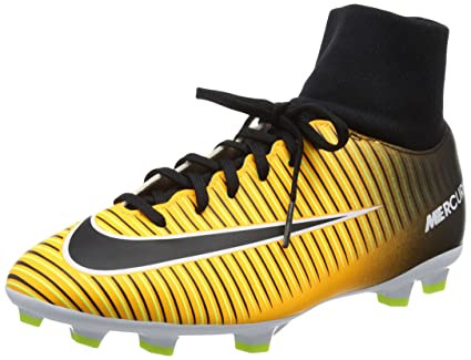 0f2a7d029 Image Unavailable. Image not available for. Color  Nike Jr Mercurial  Victory VI DF FG Soccer Cleats ...