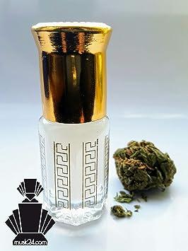 Musk Cannabis 3ml-15ml Premium Parfümöl Marihuana Misk Hanf Moschus Oudh HALAL THC frei OBD frei (Musk Cannabis, 3ml)