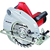 Einhell TH-CS 1400/1 Sierra Circular 1400 W, 230 V, hoja de sierra de metal duro, 24 dientes (ref.4330937)