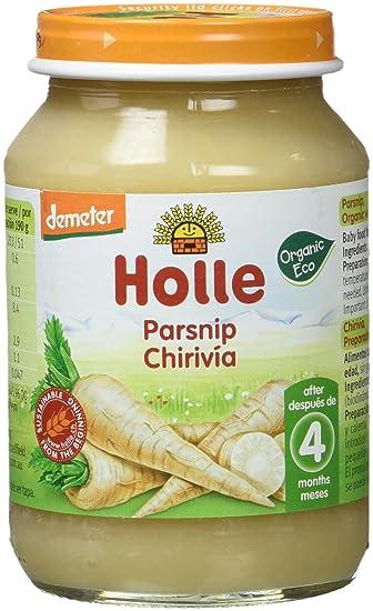 Holle Potito de Chirivía (+4 meses) - Paquete de 6 x 125 gr