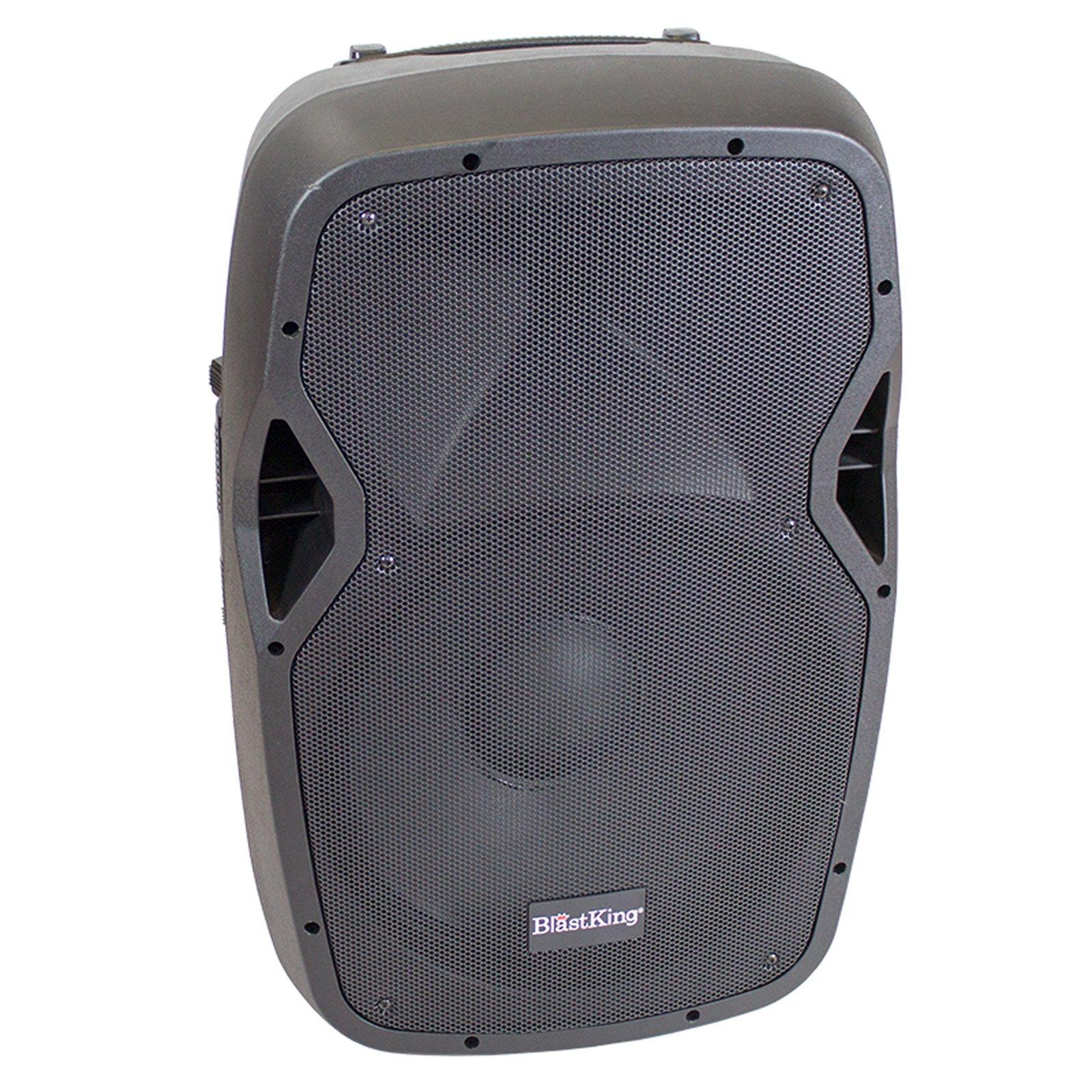 Blastking 15'' Active 1000W Watts Powered Speaker Bluetooth USB/MP3 Media Player BDS15ABT